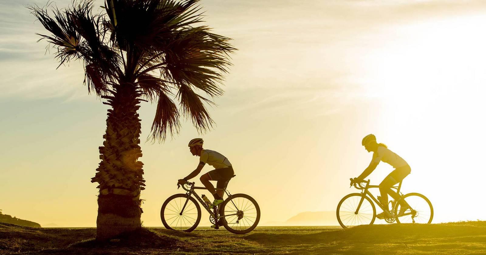 Rennradfahrer Michael Strasser
